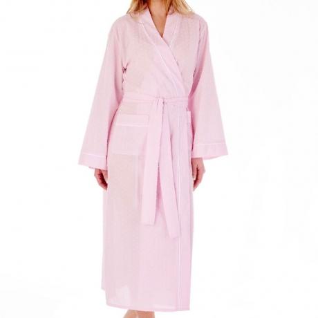 Slenderella Housecoat in pink HC77235L