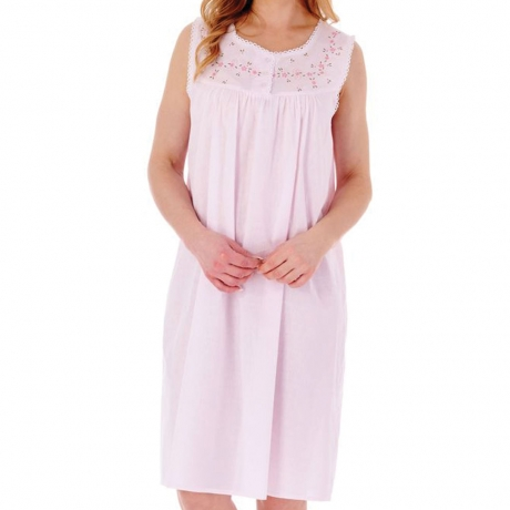 Slenderella Nightdress in pink ND3272