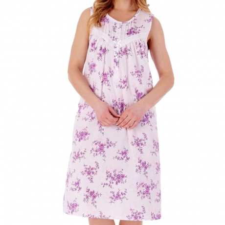 Slenderella Nightdress in lilac ND77205