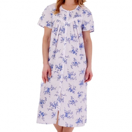 Slenderella Nightdress in blue ND77207