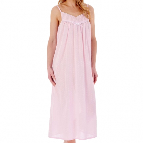 Slenderella Nightdress in pink ND77230L