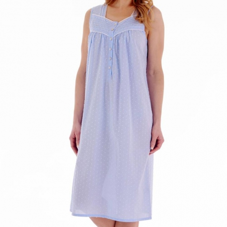 Slenderella Nightdress in blue ND77231