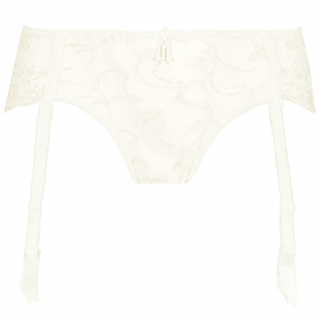 Empreinte Ginger Suspender Briefs in ivory 01207