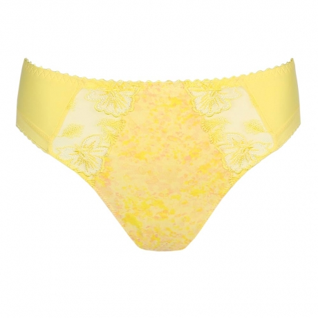 PrimaDonna Wild Flower Briefs in lemon sorbet 0563130