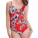 Calabria Cross Front Wired Swimsuit